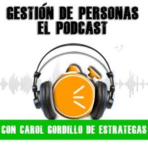 Logo para el podcast estrategas, es logo corto de estrategas sin letras con audifonos